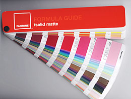 Pantone Coated formula guide